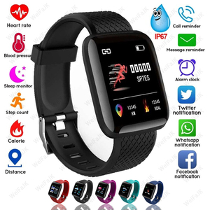 2020 Smart Watch Men Woman Smartwatch Bluetooth Blood Pressure Measurement Heart Rate Monitor Sport Smart Watches Android IOS