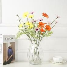 5 головок имитация хризантемы маленькая Маргаритка набор для