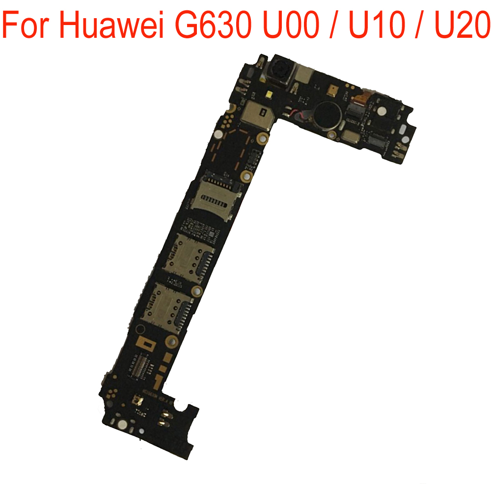 100% Original Used Test Working Mainboard For Huawei G630 U00 / U10 / U20 Motherboard Logic Board Circuits Fee Flex Cable