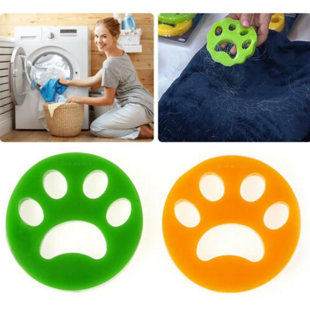 Pet Hair Remover For Laundry Non-Toxic Reusable With Remove Hair From Dogs And Cats On Clothes In The Washing Machine