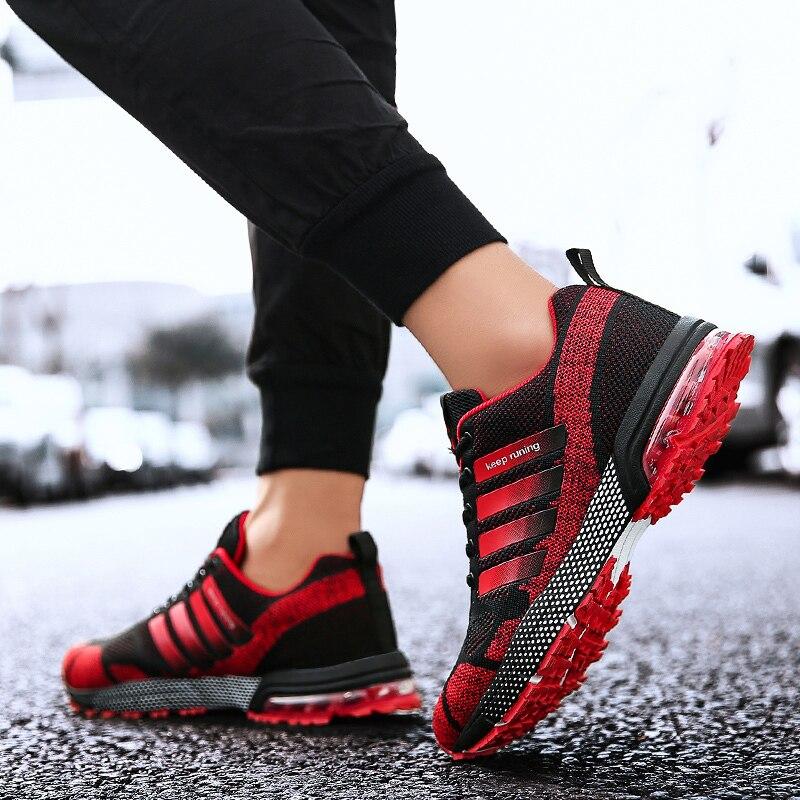 Chaussures de course pour hommes et femmes baskets de marque de hautequalité chaussures dextérieur de Sport de Gym dathlétisme taille3647