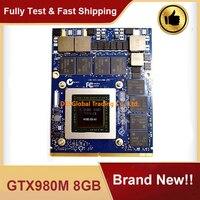 Marke Neue GTX 980M GTX980M 8GB N16E GX A1 Video Graphics VGA Karte Für HP MSI Dell Alienware Clevo Laptop GDDR5 Vollständig Getestet-in Laptop-Hauptplatine aus Computer und Büro bei