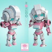 Stokta MS-TOYS dönüşüm sihirli kare MS-G01 MSG01 şeftali kız çok sevimli Robot oyuncak çocuklar için PVC aksiyon figürü oyuncak