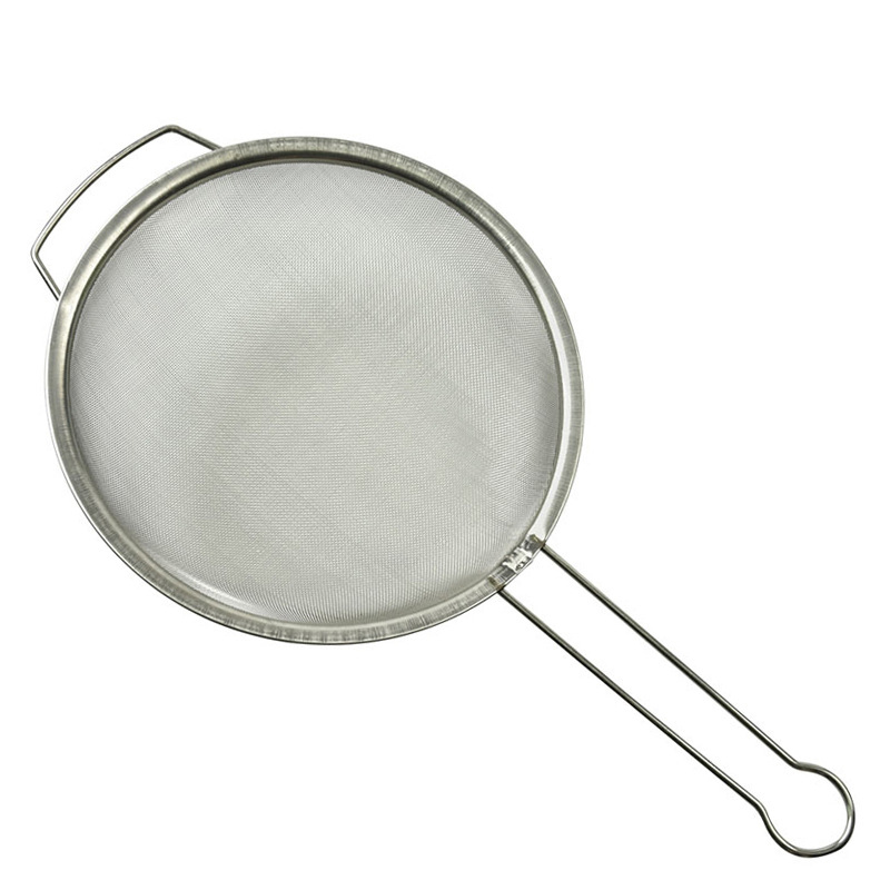 Filter Net Bee Beekeeping Stainless Steel Beekeepers Honey Mesh Strainer With Reinforced Frame And Sturdy Handle Grip