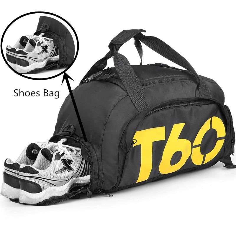 Multifunction Backpack Waterproof Gym Bag Separate Space For Shoes Men Women Fitness Durable Handbag Training Travel Sport Bags