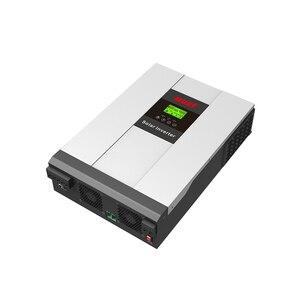 Image 4 - 5000 واط MPPT الشمسية الهجين عاكس الطاقة 5KW on/off شبكة التعادل نظام PV مع تخزين الطاقة DC48V PH18 5048 زائد