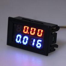 DC Voltmeter Digital 5-Wire-Voltage 0-200V Mini 0-10A