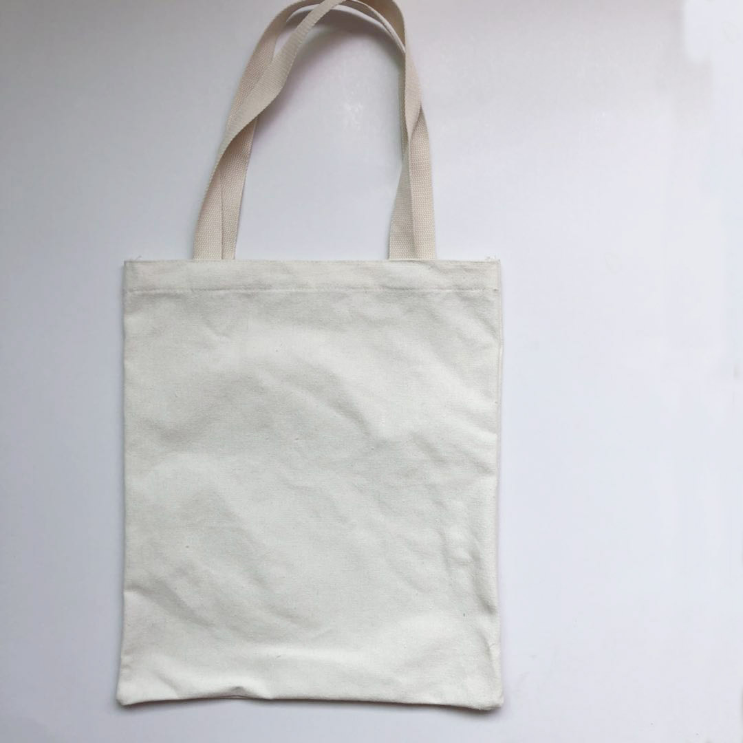 Blank Canvas Bag Portable Webbing Cotton Canvas Bag Creative Single Shoulder Canvas Bag Creative Shopping Bag