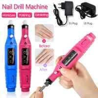1X Professional Electric Nail Drill Machine Polish Grinding Nail Art Manicure Tool Exfoliating Professional Nail Art