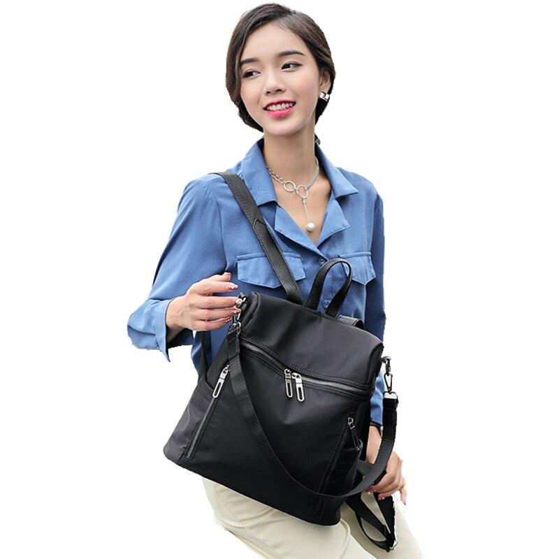 Xford sac à dos en tissu loisirs une épaule sac de voyage mode double sac à bandoulière femme nouveau produit version coréenne marée simple