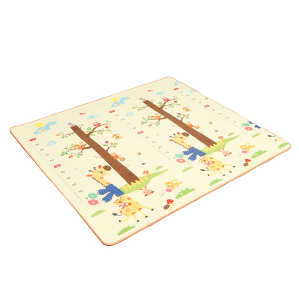 Baby Game Pad Thicken Environmental Protection Children'S Game Pad Cartoon Non-Slip Carpet Bedroom Living Room Folding Playmat