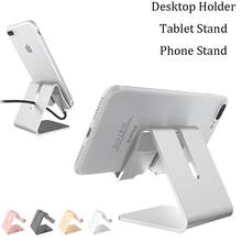 Desktop Holder For Samsung iphone Xiaomi Huawei Tablet Stand For iPad Pro 11 10.5 10.2 9.7 mini Tablet Stand Metal Phone Stand