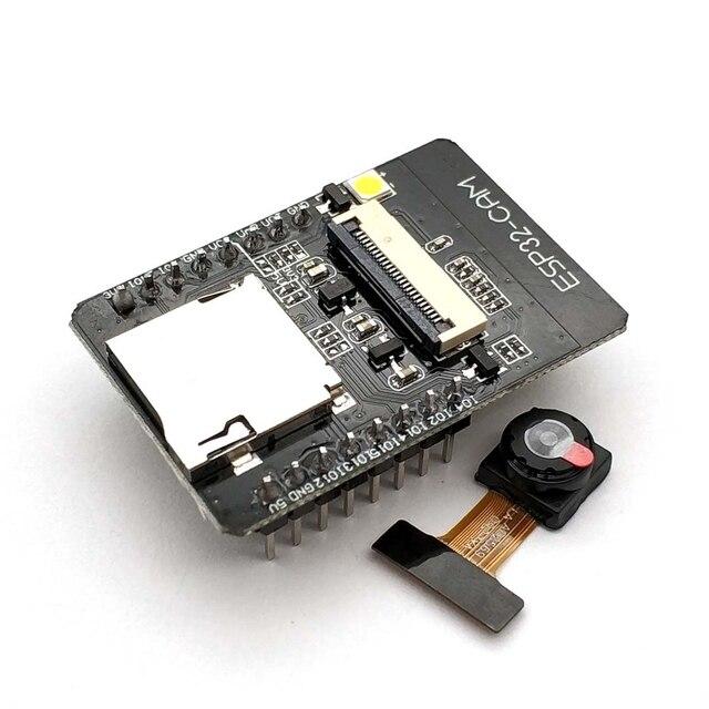 ESP32 CAM WiFi модуль ESP32 последовательный к WiFi ESP32 CAM макетная плата 5V Bluetooth с модулем камеры OV2640