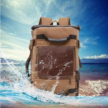 Brand Stylish Travel Large Capacity Backpack Male Luggage Shoulder Bag Computer Backpacking Men Functional Versatile Bags