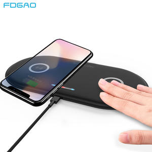 FDGAO Wireless-Charger Dock-Station Fast-Charging-Pad iPhone 11 Note Samsung S9 for 20W