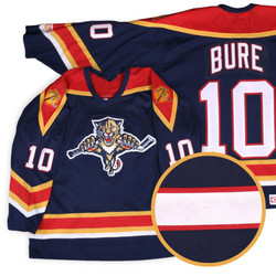 Florida Panthers #10 Pavel Bure Retro throwback Hockey Jersey Embroidery Stitched Customize any number and name