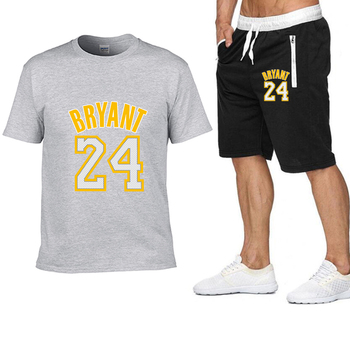 2020 new Pocket zip pants set 2 Pieces men Sets hot Basketball clothing print men set Fitness Summer Men Shorts T shirt Men set 11