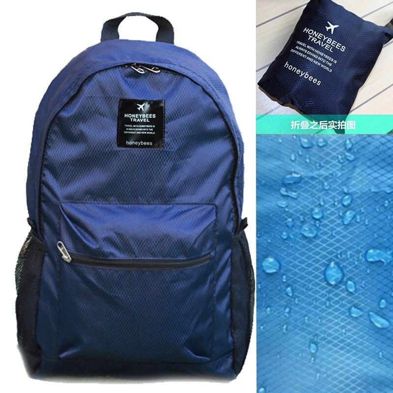 Foldable Backpack School Bag Men And Women Backpack Mountaineering Bag Outdoor Bag Backpack Lightweight Travel Portable Storage