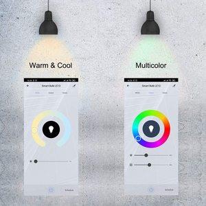 Умный WIFI лампа накаливания RGB B22 E27 приложение Управление подключен Alexa светодиодный светильник или удаленного Управление Led Lampas вечерние Декор Светильник домашней автоматизации|Светодиодные лампы и трубки|   | АлиЭкспресс