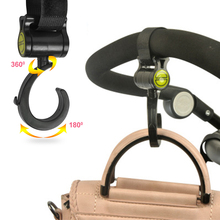 Baby Stroller Hooks Multifunctional Rotate 360 Diaper Bag Hanger Baby Activity Gear Stroller Accessories 2pcs/set