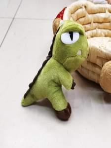 Keychain Backpack Pendant Doll Plush-Toys Christmas-Gifts Cartoon-Bag Birthday Kawaii Dinosaur