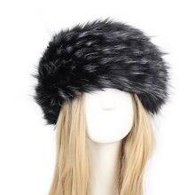 Chapéu de pele para mulheres naturais engrossar macio chapéu de pele bandana inverno russo grossas orelhas quentes moda bombardeiro chapéu de pele do falso bonés