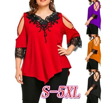 Tops De Moda para Mujer, Blusas Grandes Elegantes