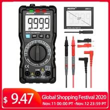 MESTEK DM91A mini multimeter digital multimeter 9999 counts auto range voltage ammeter meter multimetre multi meter multitester