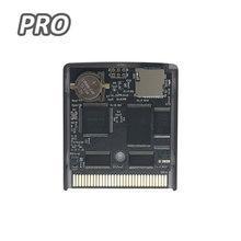 Tarjeta tipo cartucho de juego EDGB PRO para Gameboy GB DMG, consola de juegos GBC personalizada Everdrive GB, ahorro de energía