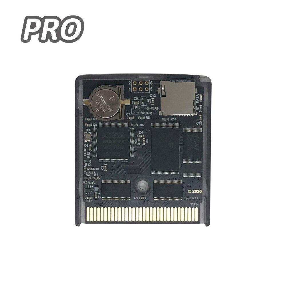 Nuevo EDGB PRO tarjeta tipo cartucho de juego para Gameboy GB DMG consola de juegos GBC personalizada Everdrive GB cartucho de juego, versión de ahorro de energía