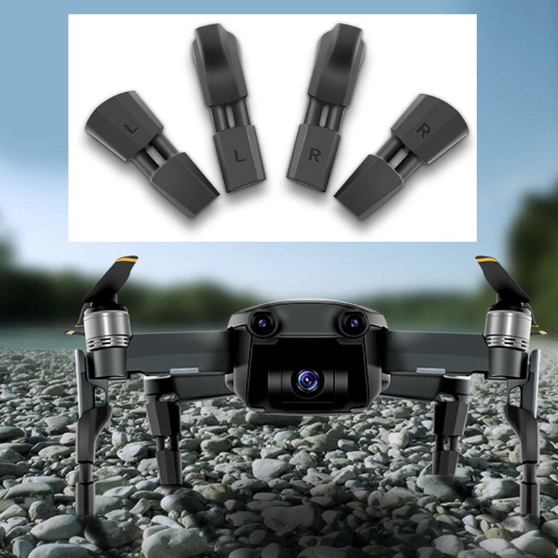 4pcs Landing Gear Kits For DJI Mavic Air Drone Quick Release Feet Heighten Shock Absorption Pads Mat Leg Spare Parts Accessories