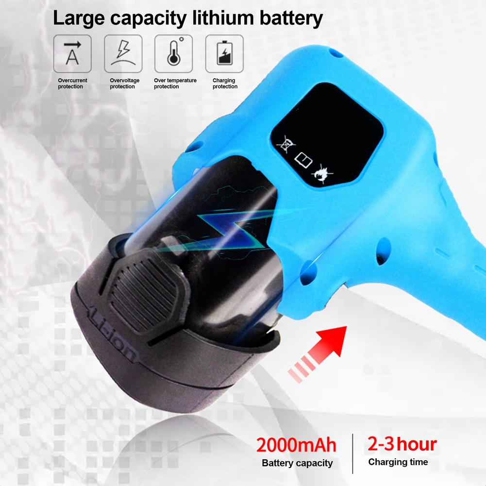 Pruner Electric Scissors Shears Cutter Rechargeable Handheld Lithium Tools Garden Battery Pruning Electric Trimmer Hedge Powered
