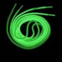 Luminous Shoelaces Round Glow In The Dark Night Color Fluorescent Shoelace Sports Canvas Adult children Shoe Laces