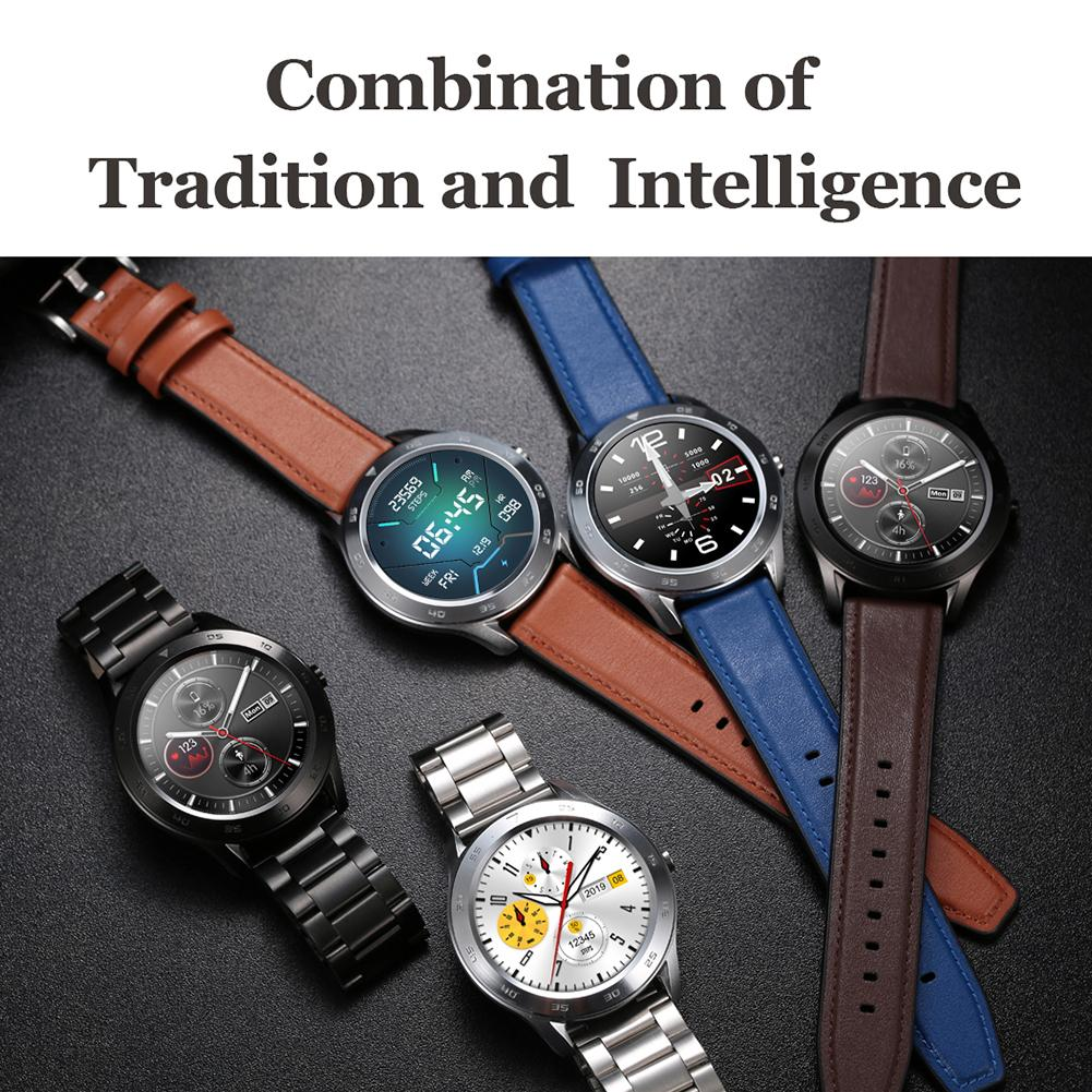DT98 1.3 Inch Full Touch Screen Bluetooth Call Multi-dial AI Chip IP68 Multi-sports Mode Smart Bracelet Wristband Smart Watch