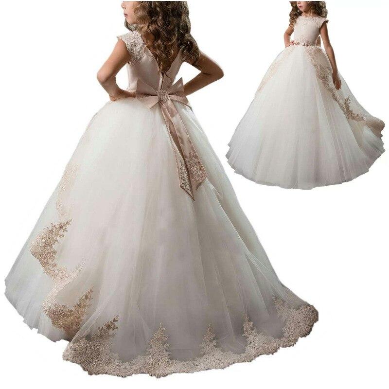 2019 offre de vente chaude de marchandises Europe et amérique robe de princesse dentelle robe pour enfants grand garçon fleur garçons/fleur filles Dresse