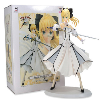 Anime Fate / Stay Night Saber Lily Girl PVC Action Figure Resin Collection Model Toy Gifts Cosplay 1