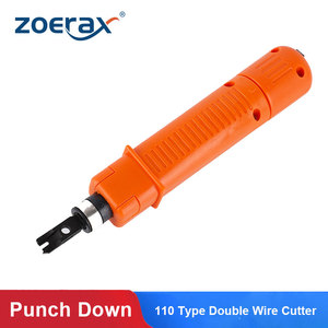 Image 1 - Punch Down Tool, Zoerax 110 Type Network Cable Tool Double Blades Ethernet Impact Terminal Insertion Tools