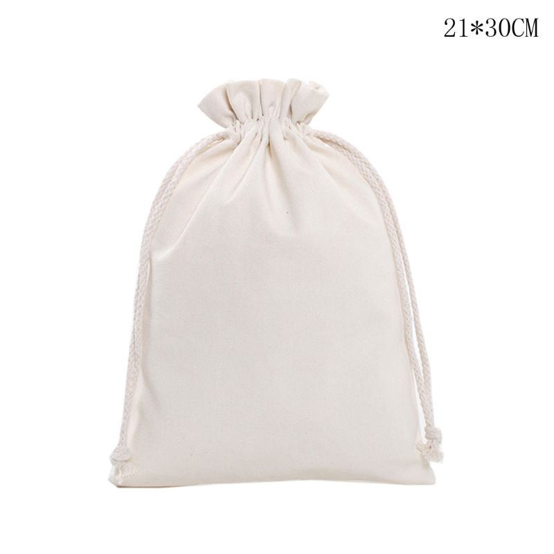 Travel Linen Storage Bag Drawstring Organize Home Pouch Candies DIY Crafts Case Q1QA