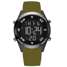 ADDIES Relogio Masculino Silicone Digital Wristwatches Fashion Brand Waterproof Multi-function LED Sports Watch