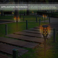 Luminous Torch Lamp Solar Lights Party Star Pattern Creative Lawn Light Waterproof Garden Pathways IP65 Household Accessory