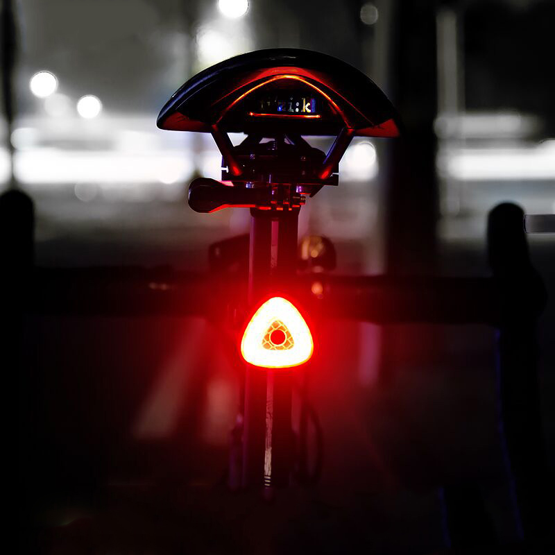 XANES STL15 Smart Brake Sensor USB Tail Light Bicycle Back Waterproof Safty Road Bike Cycling Motorcycle Torch Lantern Lamp