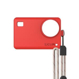 Image 5 - Originele Accessoires SJCAM Siliconen/Mouw + Pols Touw/Lanyard Beschermhoes/Frame/Cover/Grens voor SJ8 Pro Plus Actie Camera