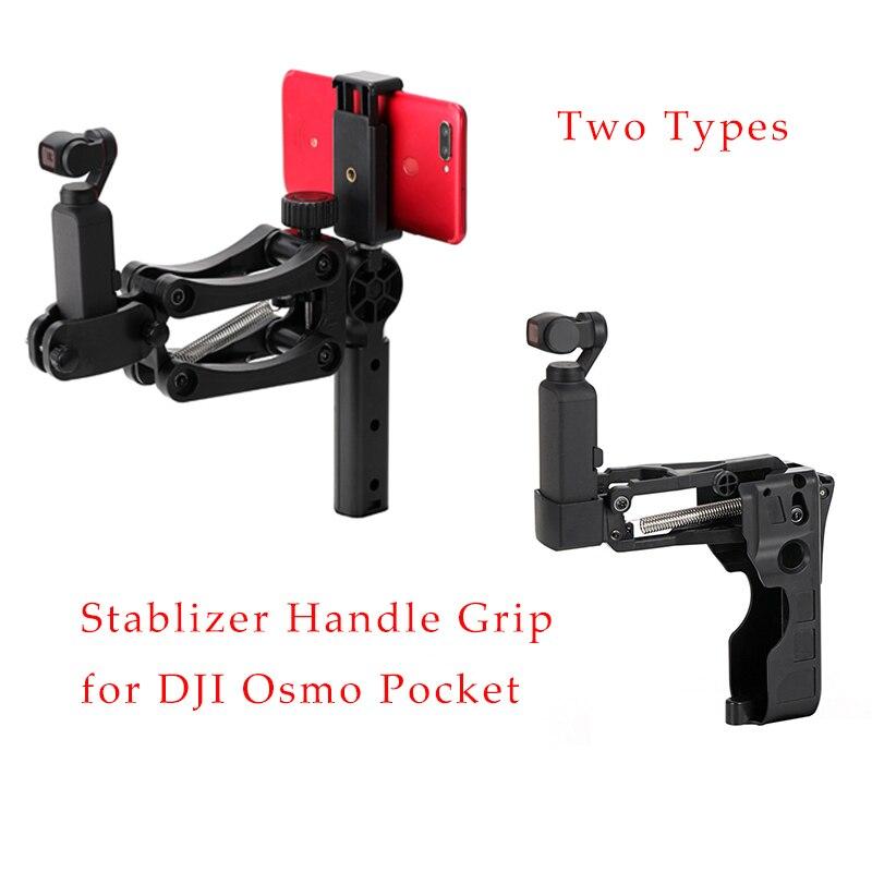 Stabilizator uchwyt rękojeści ramię ręczny uchwyt amortyzatora elastyczny uchwyt 4. Osi do DJI OSMO Pocket Gimbal akcesoria do telefonu