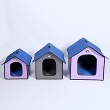 New outdoor rainproof and waterproof pet nest outdoor pet house kennel cat litter dog house outdoor цена 2017