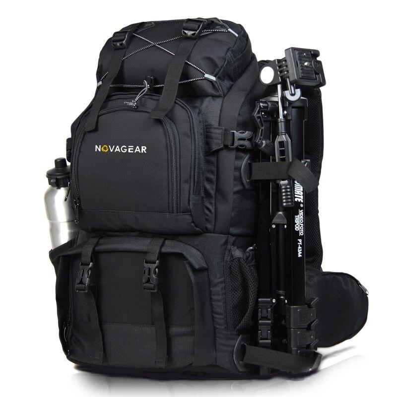 NOVAGEAR 80302 sac Photo sac à dos pour appareil Photo universel de grande capacité sac à dos pour appareil Photo numérique Canon/Nikon-in Sacs pour appareil photo from Electronique    2