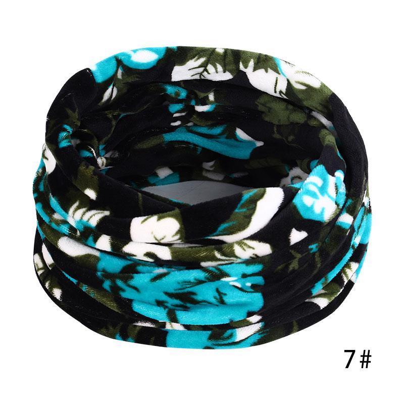 Новинка, осенне-зимний женский шарф с принтом для женщин, модный бархатный тканевый шарф, мягкий удобный женский винтажный шарф - Цвет: 7