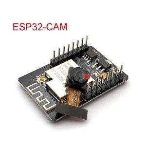 Image 2 - ESP32 CAM WiFi модуль ESP32 последовательный к WiFi ESP32 CAM макетная плата 5V Bluetooth с модулем камеры OV2640