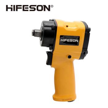 HIFESON 1/2 Mini Pneumatic Impact Wrench Car Repairing Impact Wrench Tools Auto Spanners 7500 R.P.M hifeson air pneumatic wrench tool spanner power tools tire remoual torque impact sleeves spanners air tools