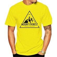 Mount Everest Expedition T Shirt koszulka w stylu Vintage Mountain alpinista góry dzwonią męskie męskie koszule męskie ubrania Nove
