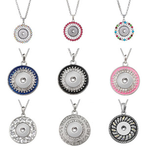 New Snap Necklace Jewelry Oval
